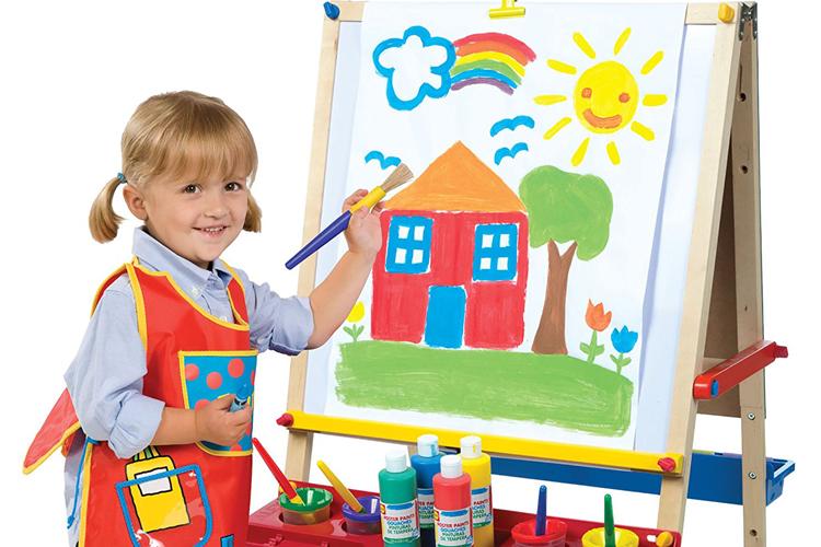 نقاشی کودک شما، آینهی احساسات اوست