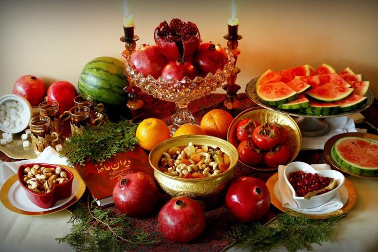 شب یلدا با آذربایجانی ها