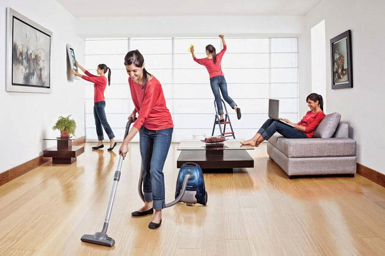 تمیز کردن اورژانسی منزل!