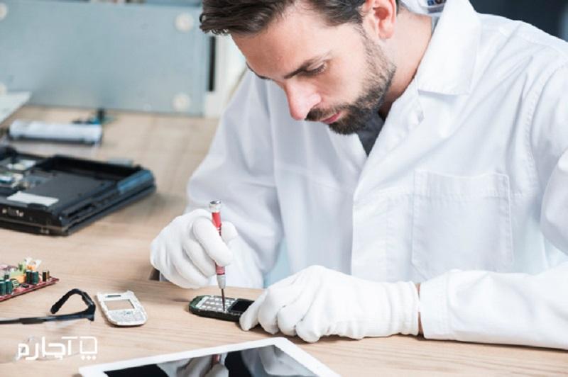 تعمیرکار موبایل تعمیر موبایل در محل آچاره