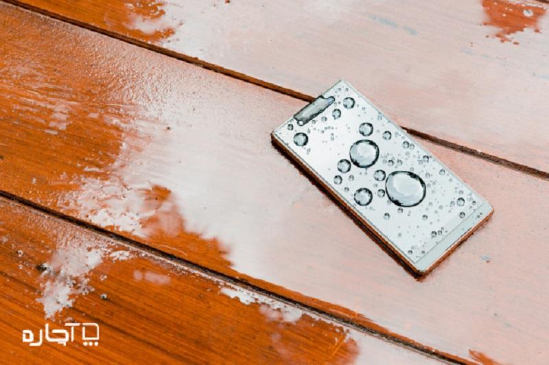 خیس شدن گوشی تعمیر موبایل آچاره