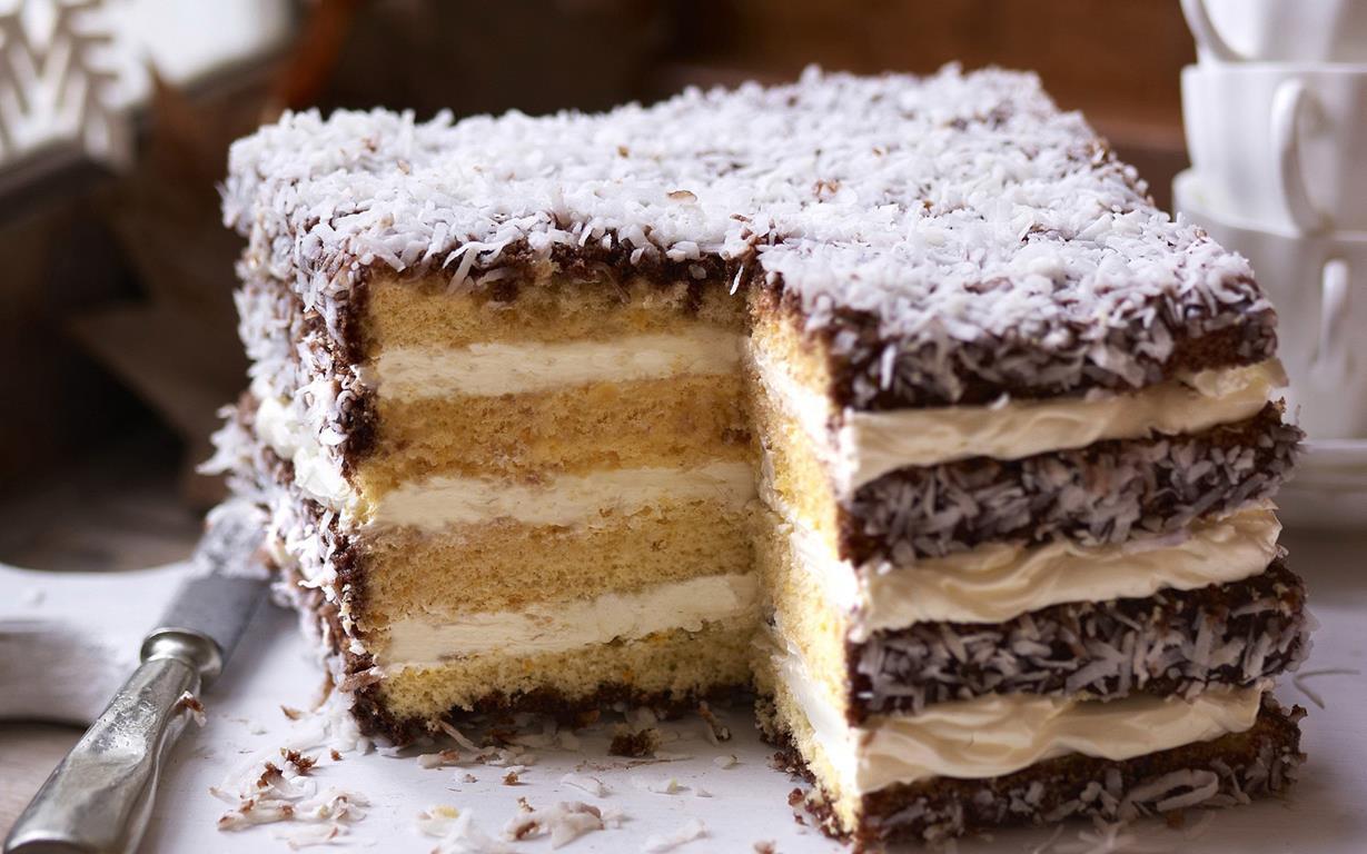 کیک لمینگتن