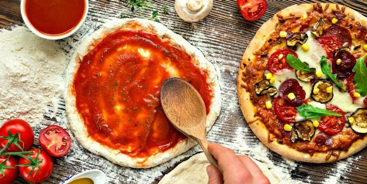 پیتزای خانگی- آچاره