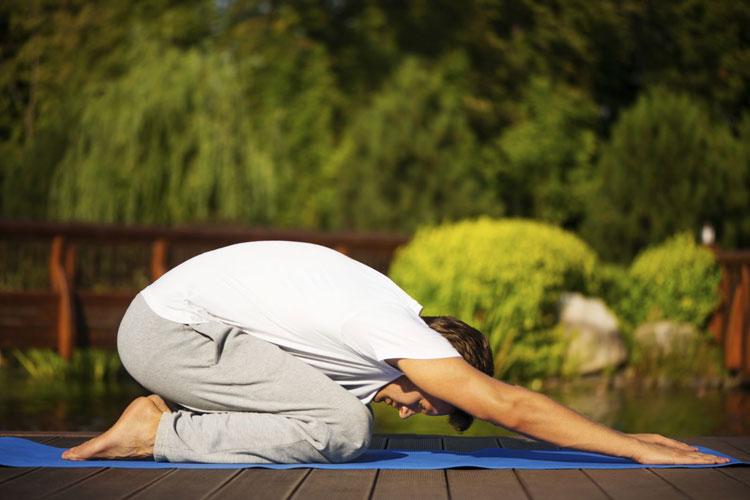 کاهش استرس با یوگا