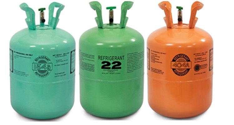 شارژ گازز کولر آچاره