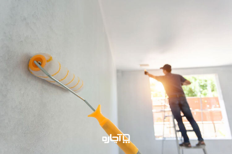 رنگ روغنی برای نقاشی ساختمان