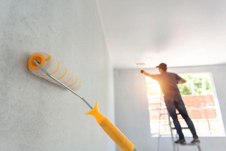 خرید رنگ روغن برای نقاشی ساختمان آچاره