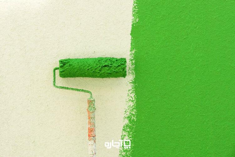 رنگ پلاستیک برای نقاشی ساختمان