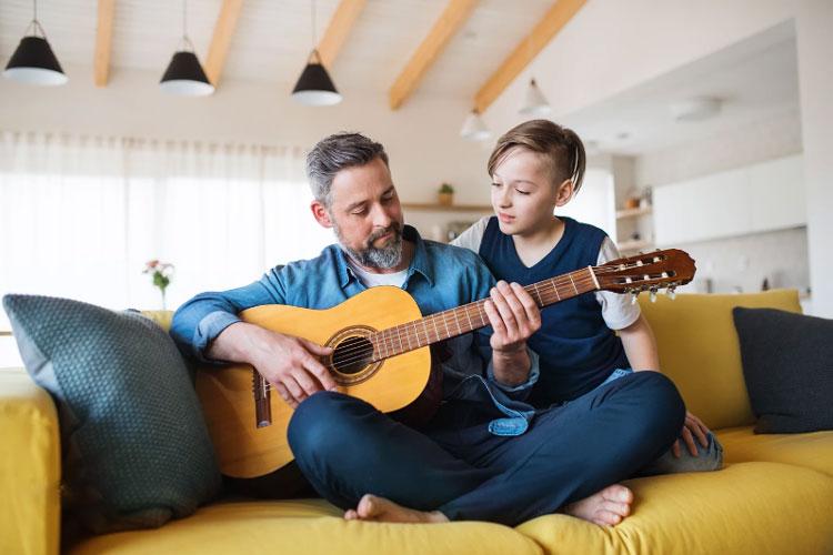 انتخاب ساز برای یادگیری موسیقی