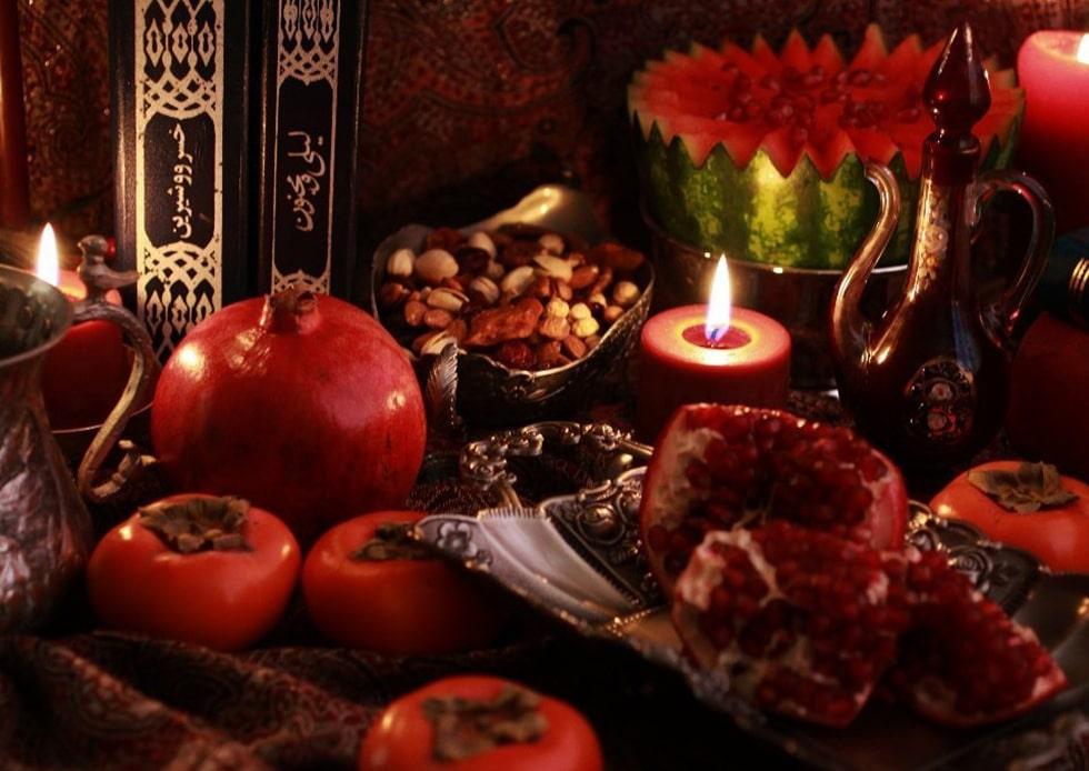 آداب و رسوم و مراسم شب یلدا