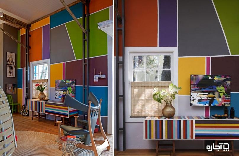 رنگ ساختمان و انواع آن