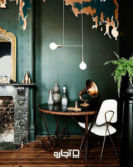 رنگ سبز برای نقاشی ساختمان