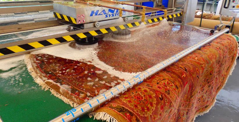 قالیشویی با روش اتوماتیک