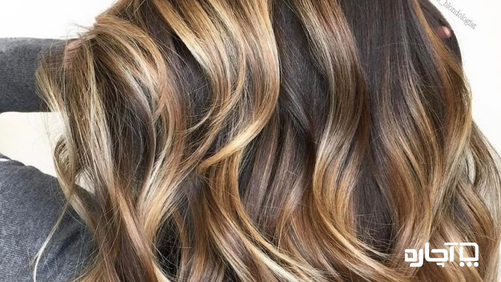 پیچ و تاب موجی شکل در مو بلند - مدل مو بلند زنانه 2020 شیک و مجلسی