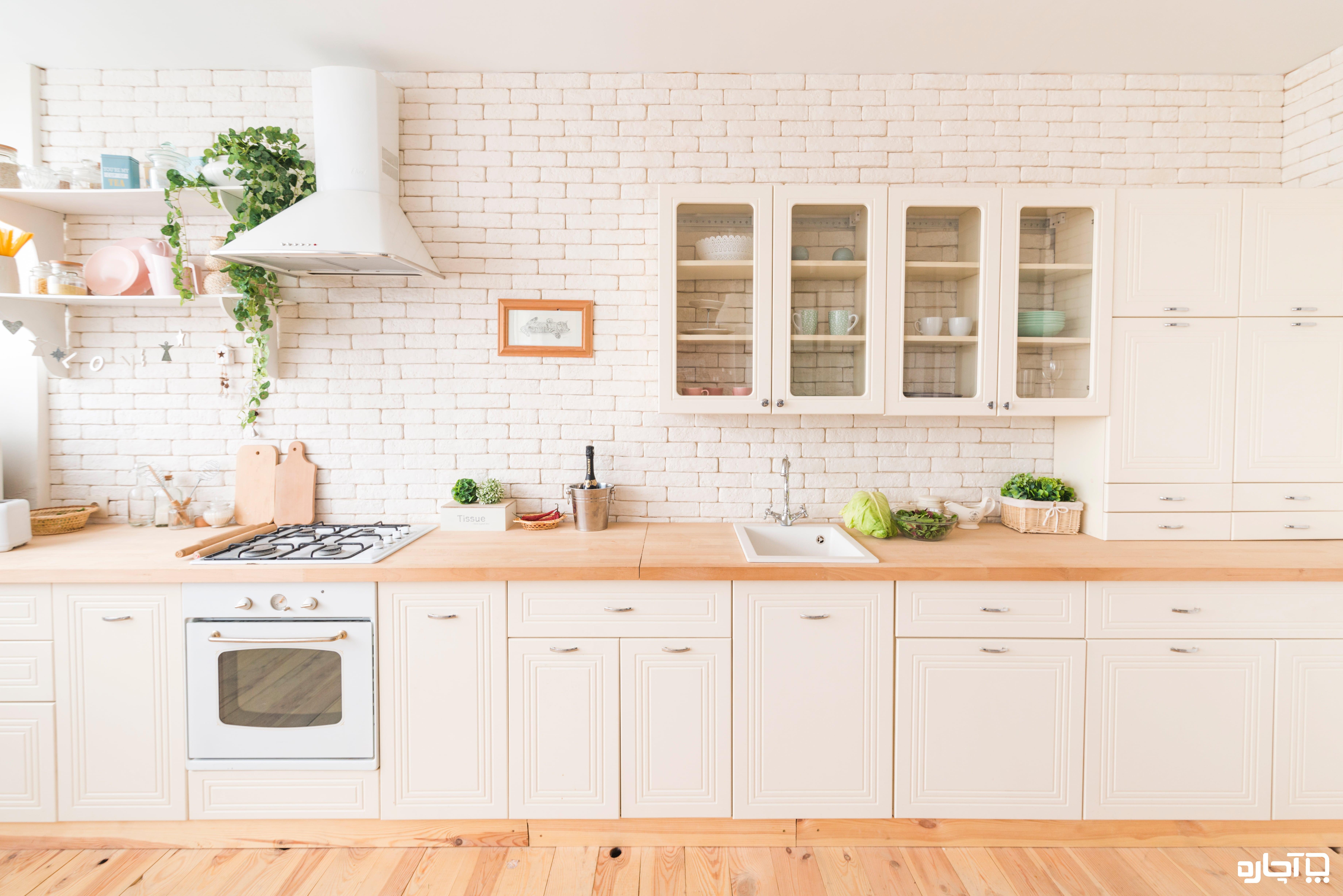 طراحی کابینت آشپزخانه - لیست قیمت و هزینه ساخت آن