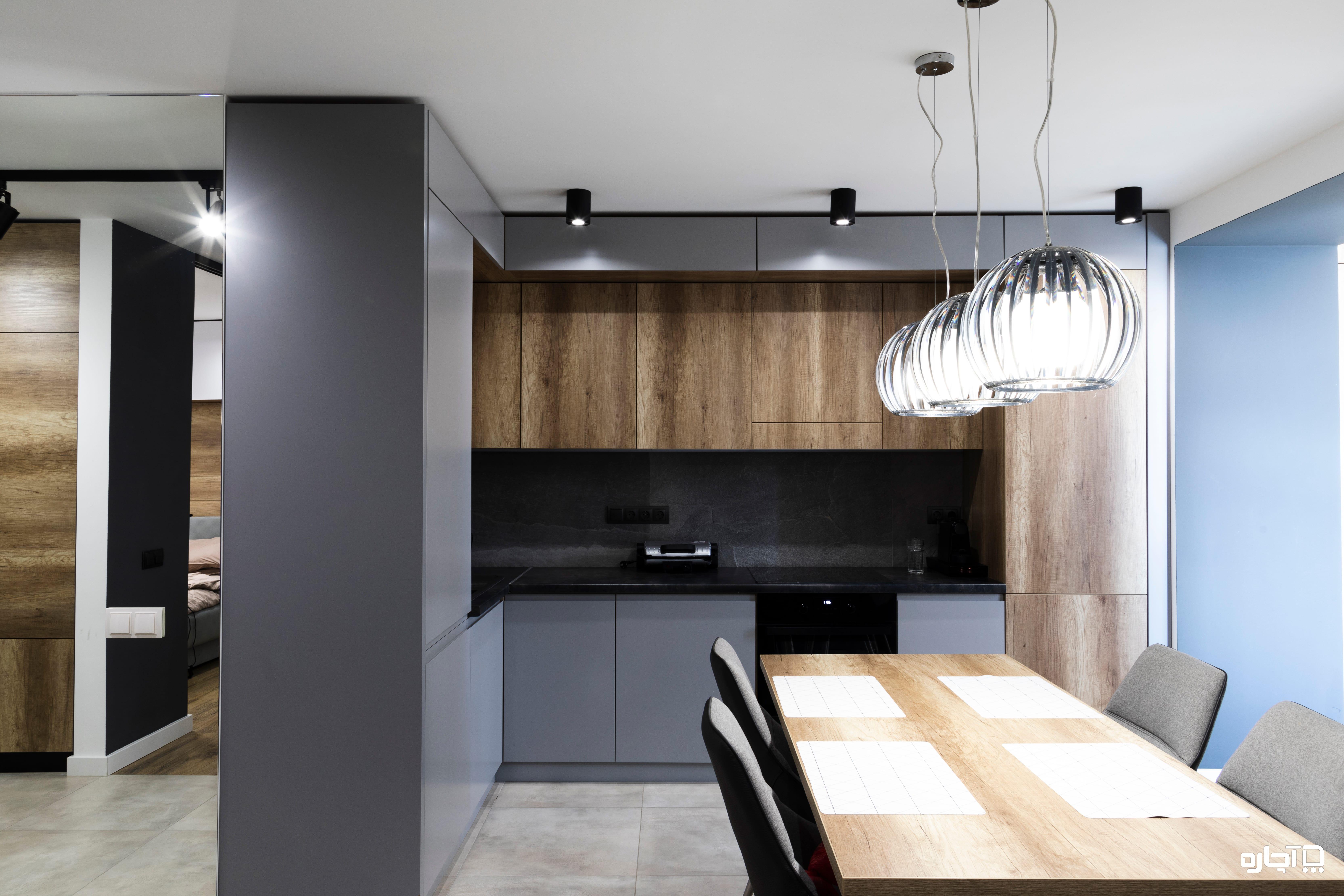 انتخاب رنگ و هزینه ساخت و طراحی کابینت آشپزخانه
