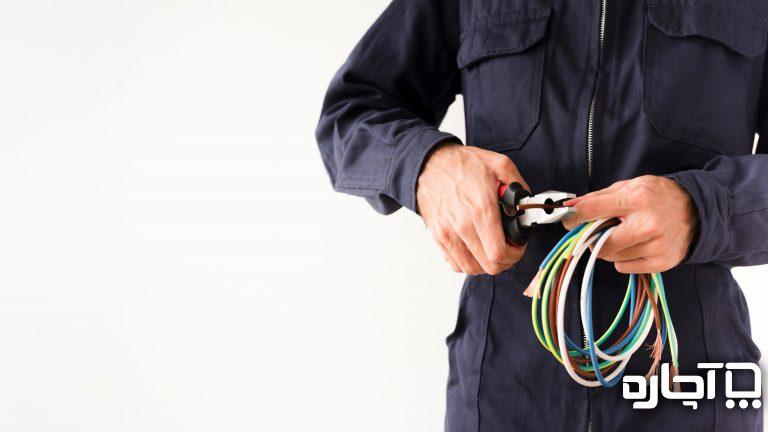 تعمیر سیم کشی تلفن توسط افراد متخصص