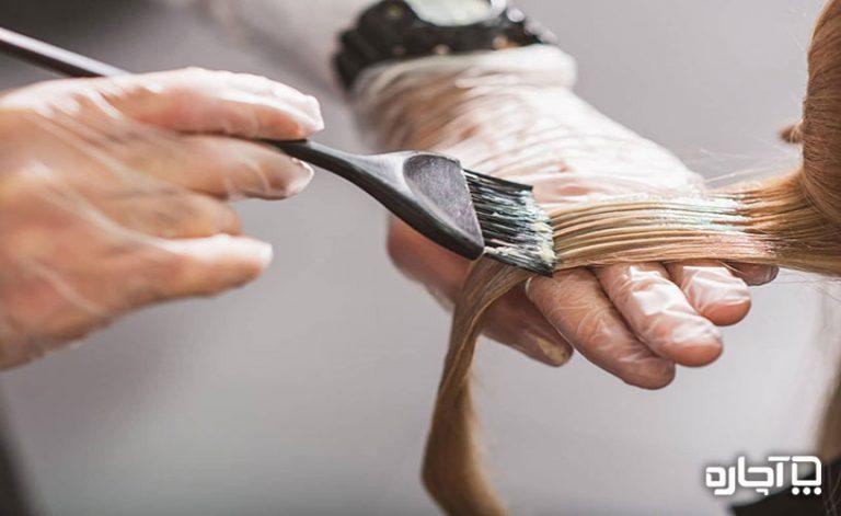 ۱۵ نکته آموزش رنگ کردن مو به صورت تصویری و گام به گام