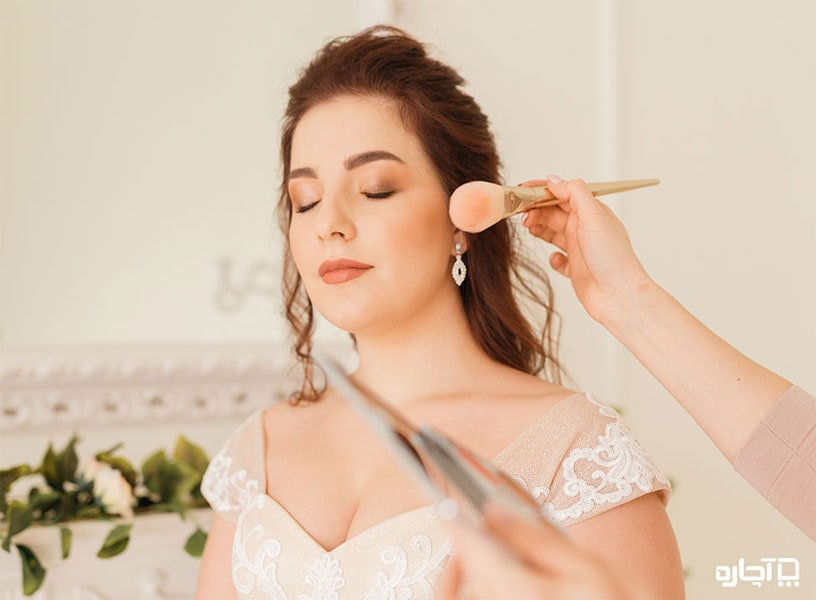 نکات مهم برای آرایش صورت عروس در سال 2020