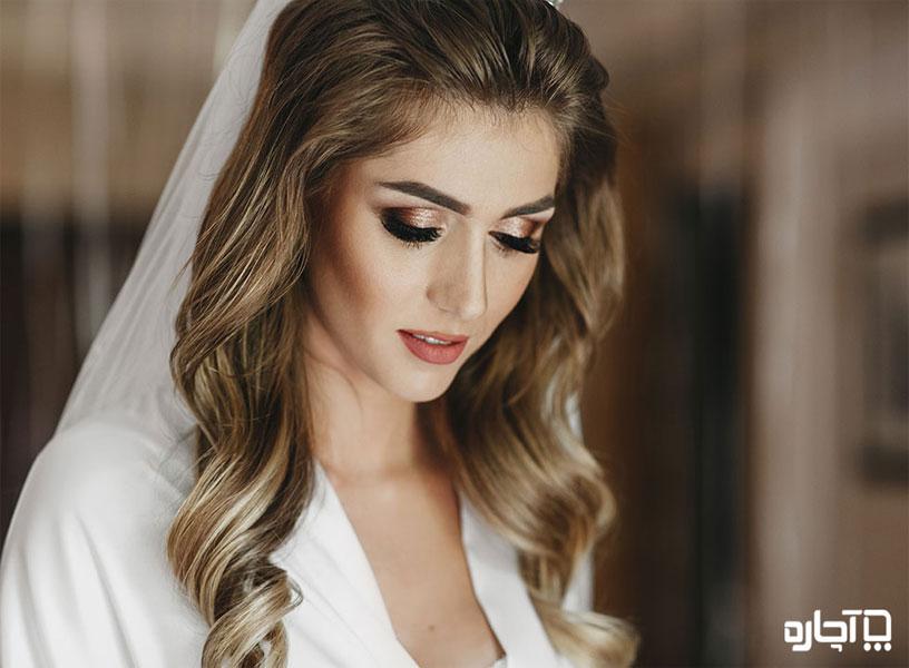 انواع آرایش صورت عروس