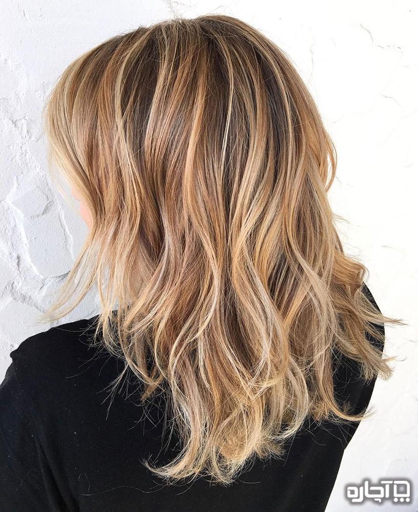 چگونه موها را رنگ کنیم