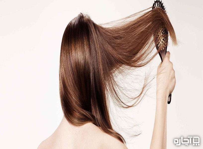 براشینگ صحیح مو
