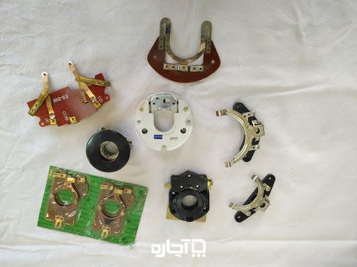 تنظیم پلاتین موتور کولر هنگام راه اندازی کولر