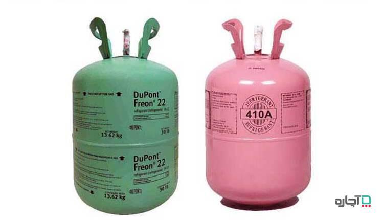 تفاوت گاز کولر گازی