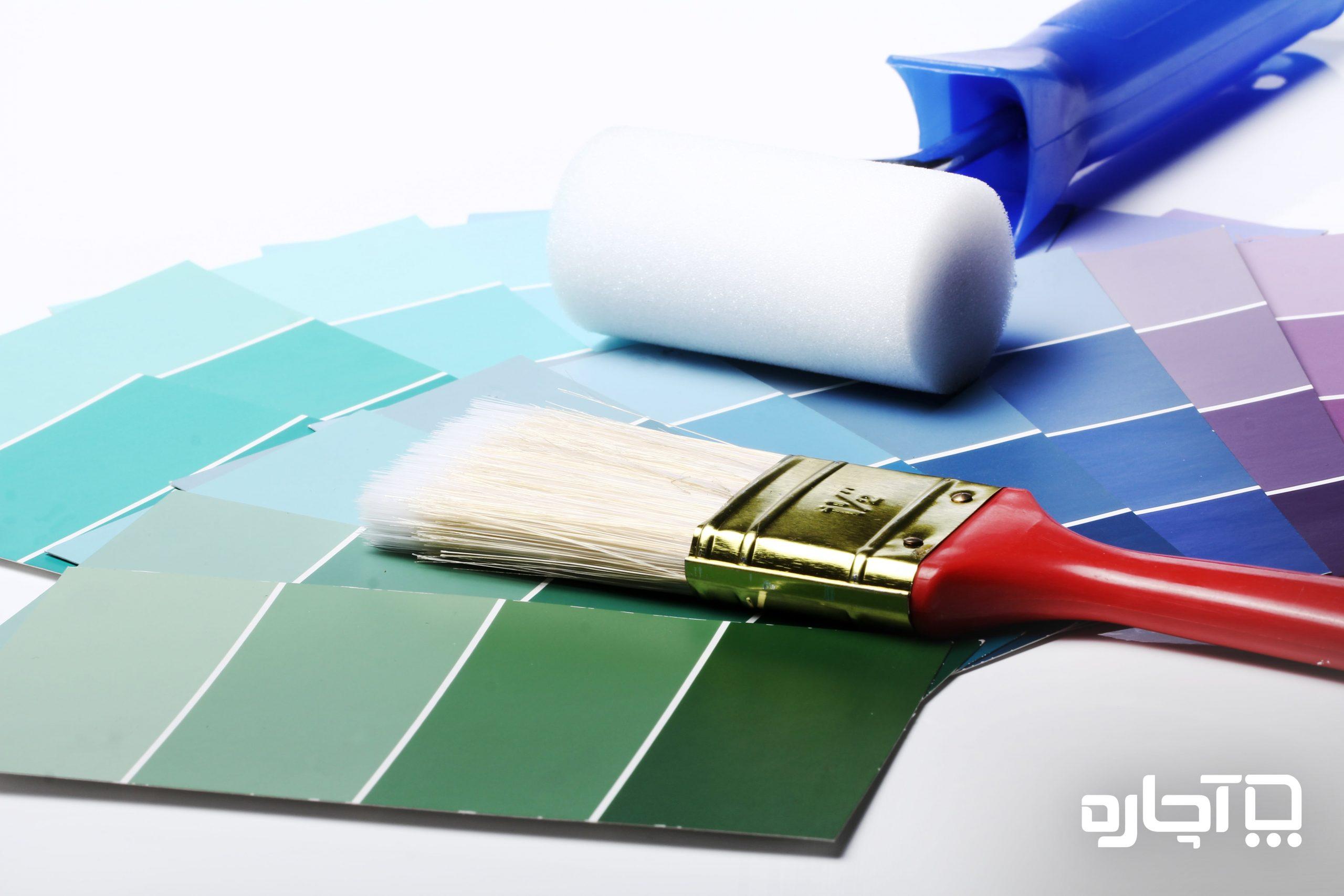 رنگ برای نقاشی دیوار