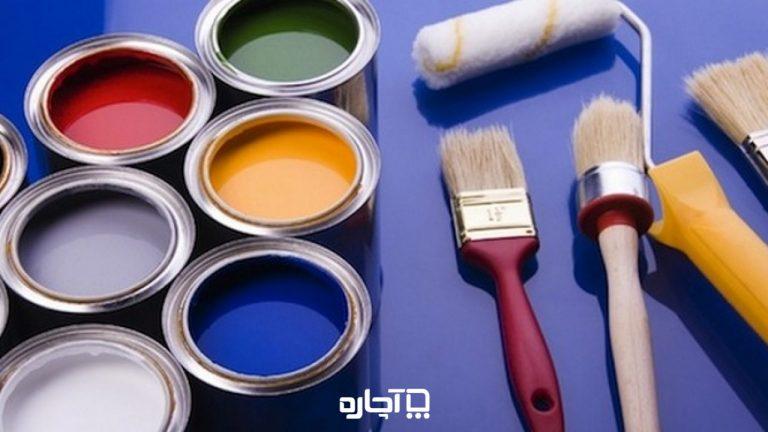 رنگ ساختمانی و راهنمای انواع رنگ ساختمان