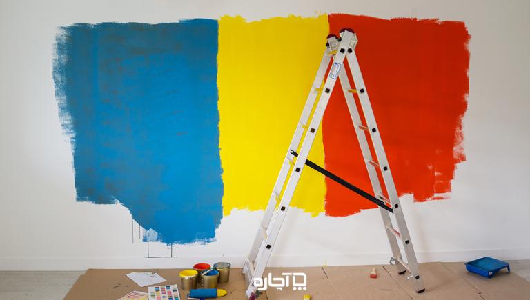 رنگ پلاستیک برای نقاشی ساختمان، معایب و مزایای آن