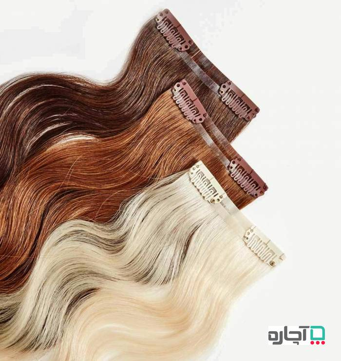موی طبیعی و یا مصنوعی برای اکستنشن